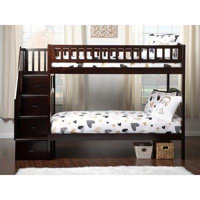 Best Harriet Bee Simmons Twin Over Twin Bunk Bed In 2019 Bunk 400 x 300