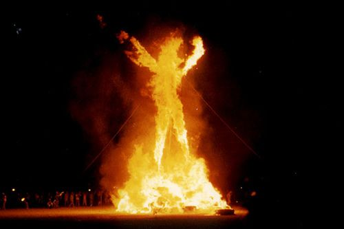 Attend Burning Man.... the ONE single thing on my bucket list