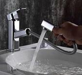 Modern Crane Design Single Handle Basin Faucet