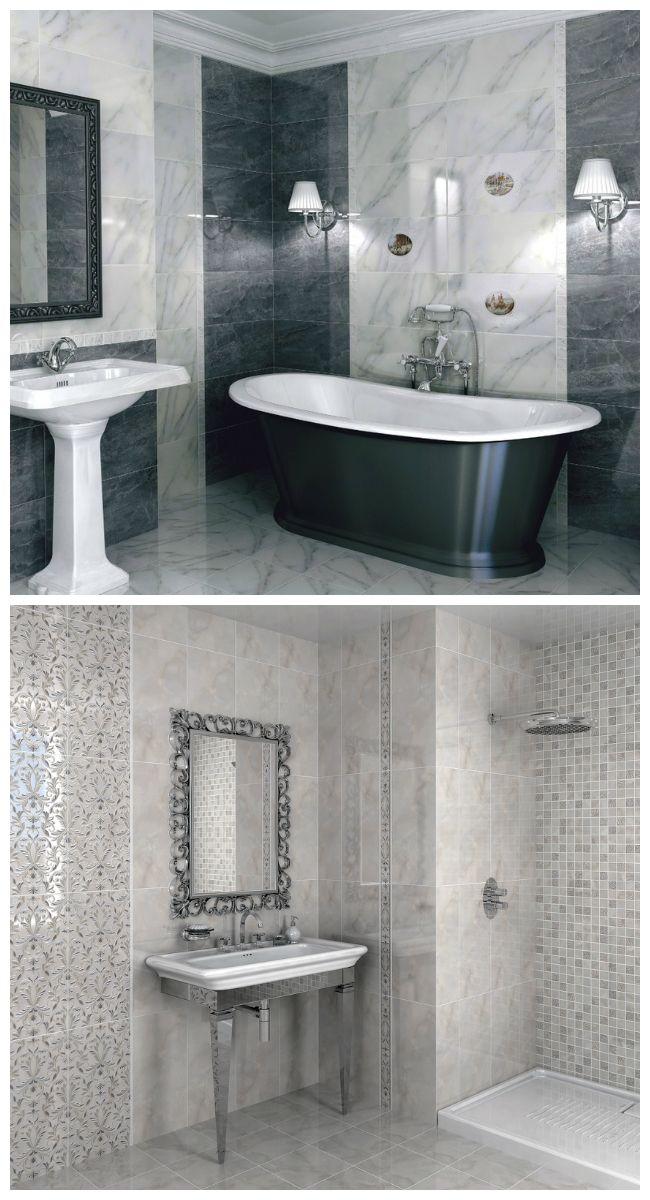 Каталог кафельной плитки для ванной: дизайн интерьера ...