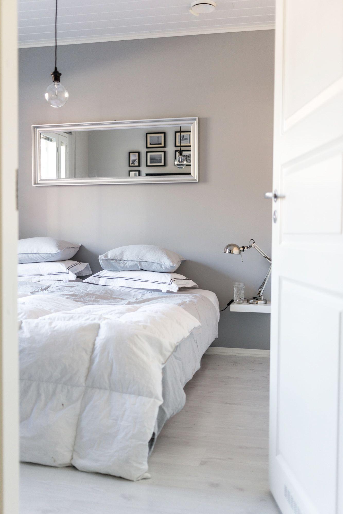 Bedroom / Linen bedding / Minimalism / White / Noora&Noora nooraandnoora.com