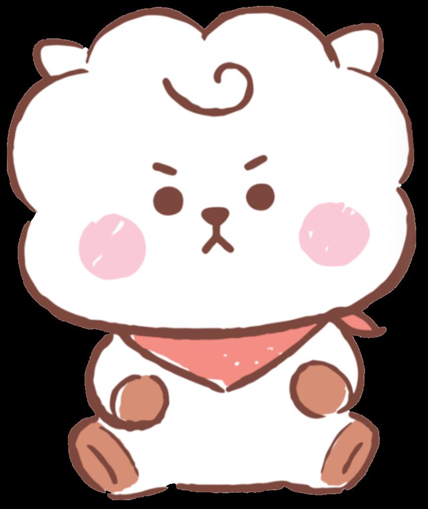 Freetoedit Bt21 Rj Jin Baby Kpop Bts Cute Handpainted Remixit In 2020 Bts Wallpaper Bts Drawings Cute Wallpapers