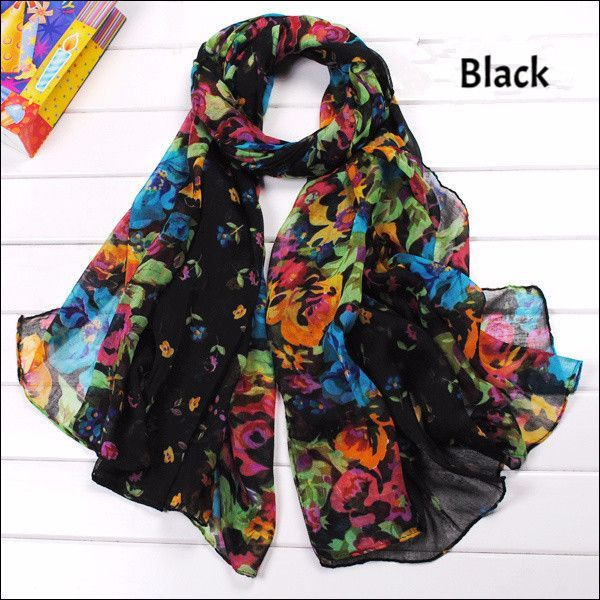 Tropical Parrot Geometric Bird Print Tassel Scarf Shawl Wrap UK Seller Abstract