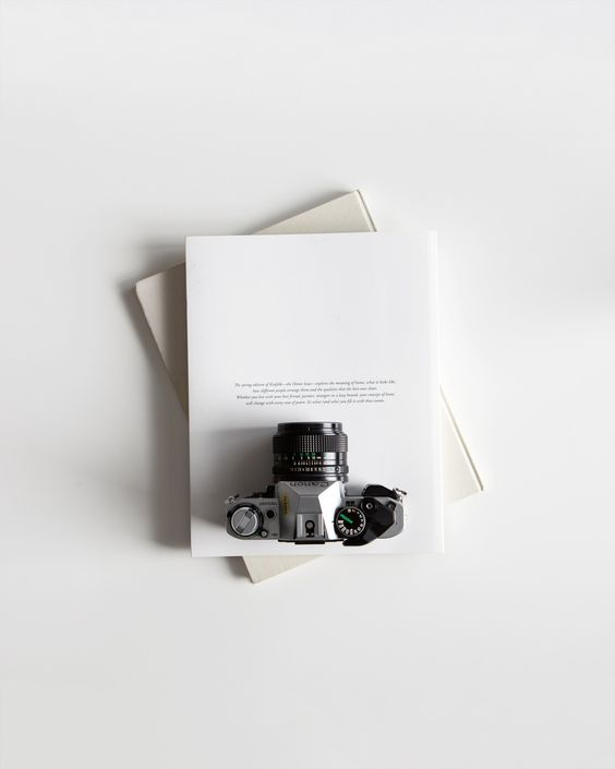 Camera Minimal Of Curated By Simple Camera Flat Lay Connor
