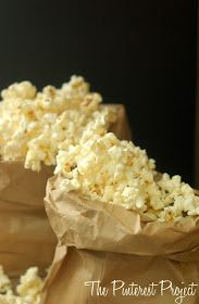 The Pinterest Project: Microwave Popcorn