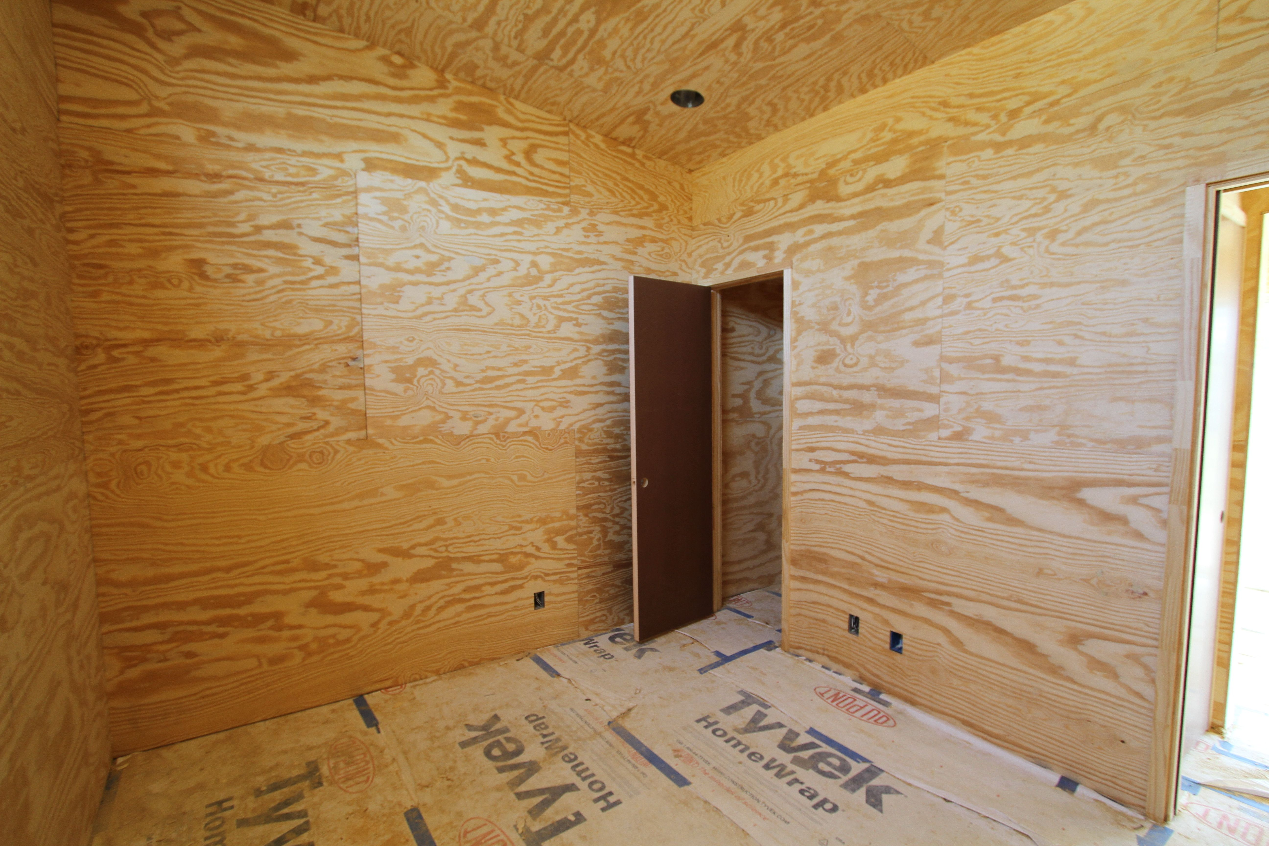 Installing plywood walls the rules of engagement for Plywood wall sheathing