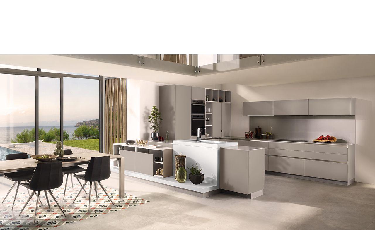Cuisine design melamine arcos 4 maman maison for Conception cuisine schmidt