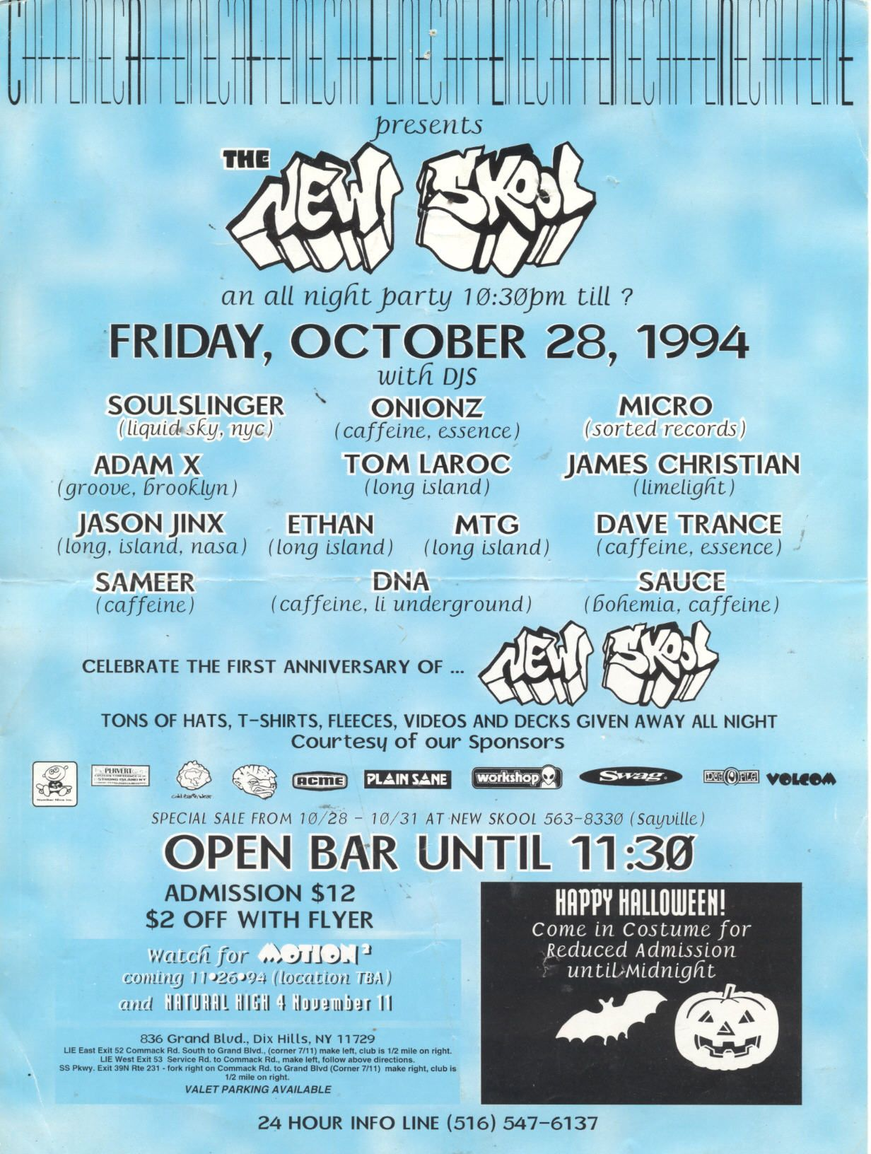pinunderground exposed on old skool nyc rave flyers | pinterest
