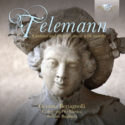 Telemann: Cantatas and Chamber Music with Recorder [CD]