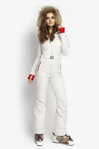 38cb70529a Ski suit for sale Classic Perfomance fit apparel white front view ...