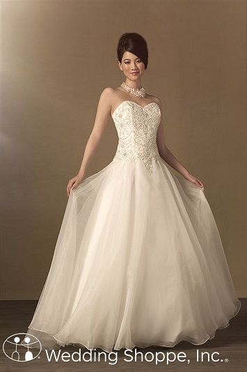 Alfred Angelo Bridal Gown 2450 | Alfred angelo bridal, Bridal gowns ...
