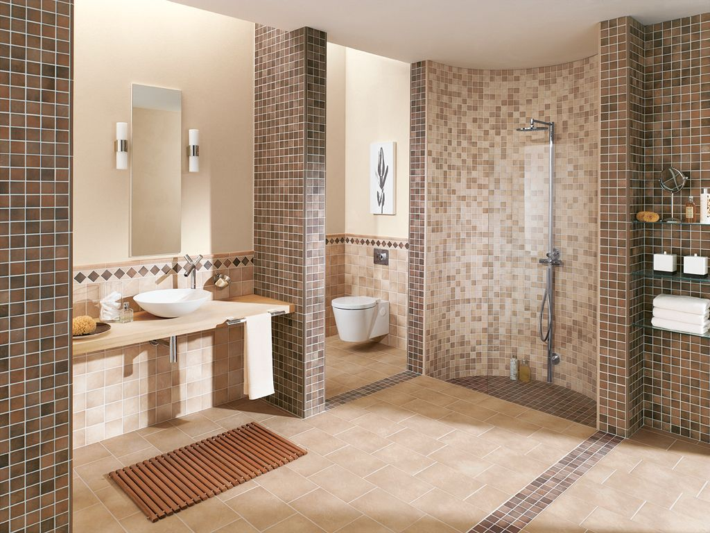 barrierefreie b der duschen schicha fliesen. Black Bedroom Furniture Sets. Home Design Ideas