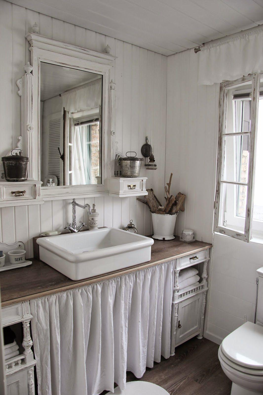 Shabby Bathroom This Old House Pinterest Badezimmer Bader Und