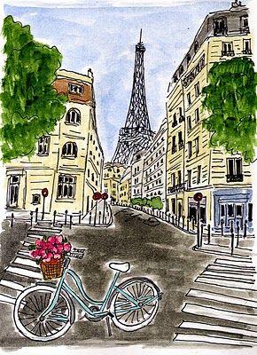 #bicyclette in paris...