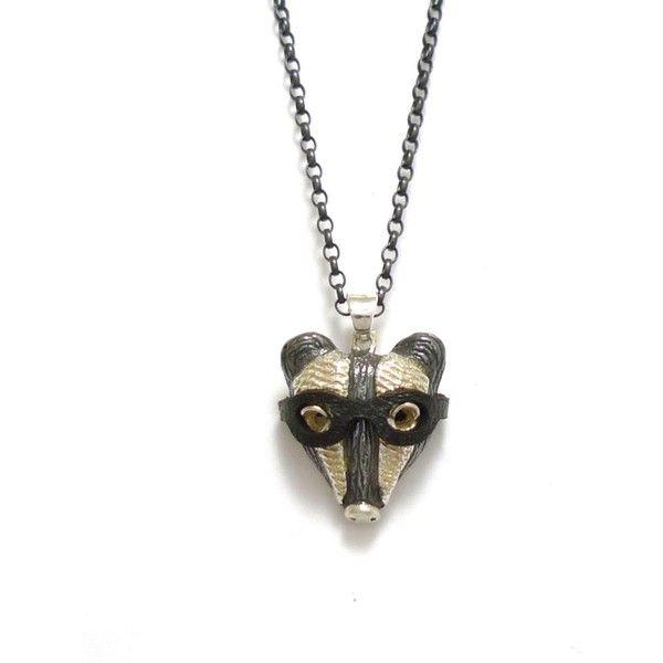 By Emily Gold Miniature Hare Necklace 6l2Q8LhV