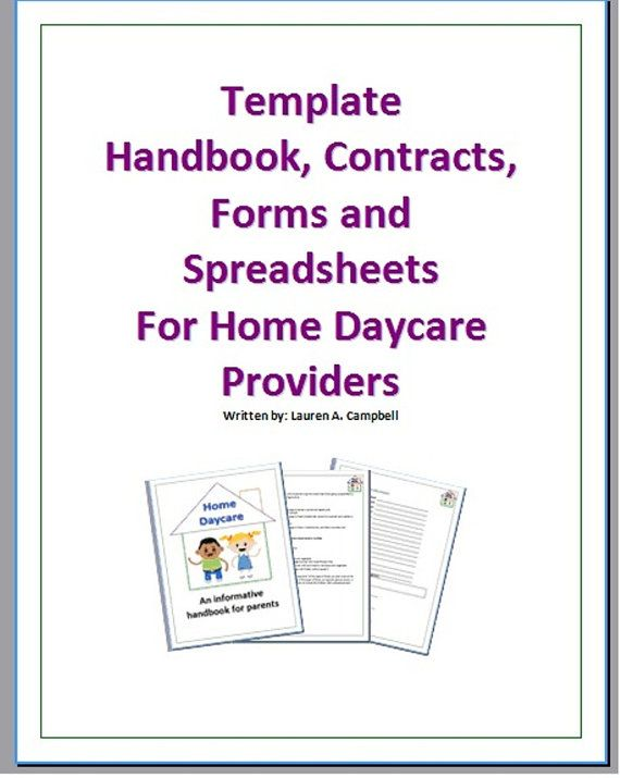 Daycare Forms  Records Pack  Daycare Forms Daycare Ideas And
