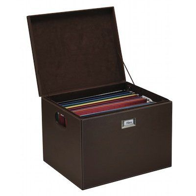 Kangaroom Storage Hanging File Box   Brown By Kangaroom Storage, Http://www
