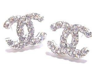 1f1bfd15f3 Chanel studs...   coco 2.55   Chanel earrings, Chanel earrings cc e ...