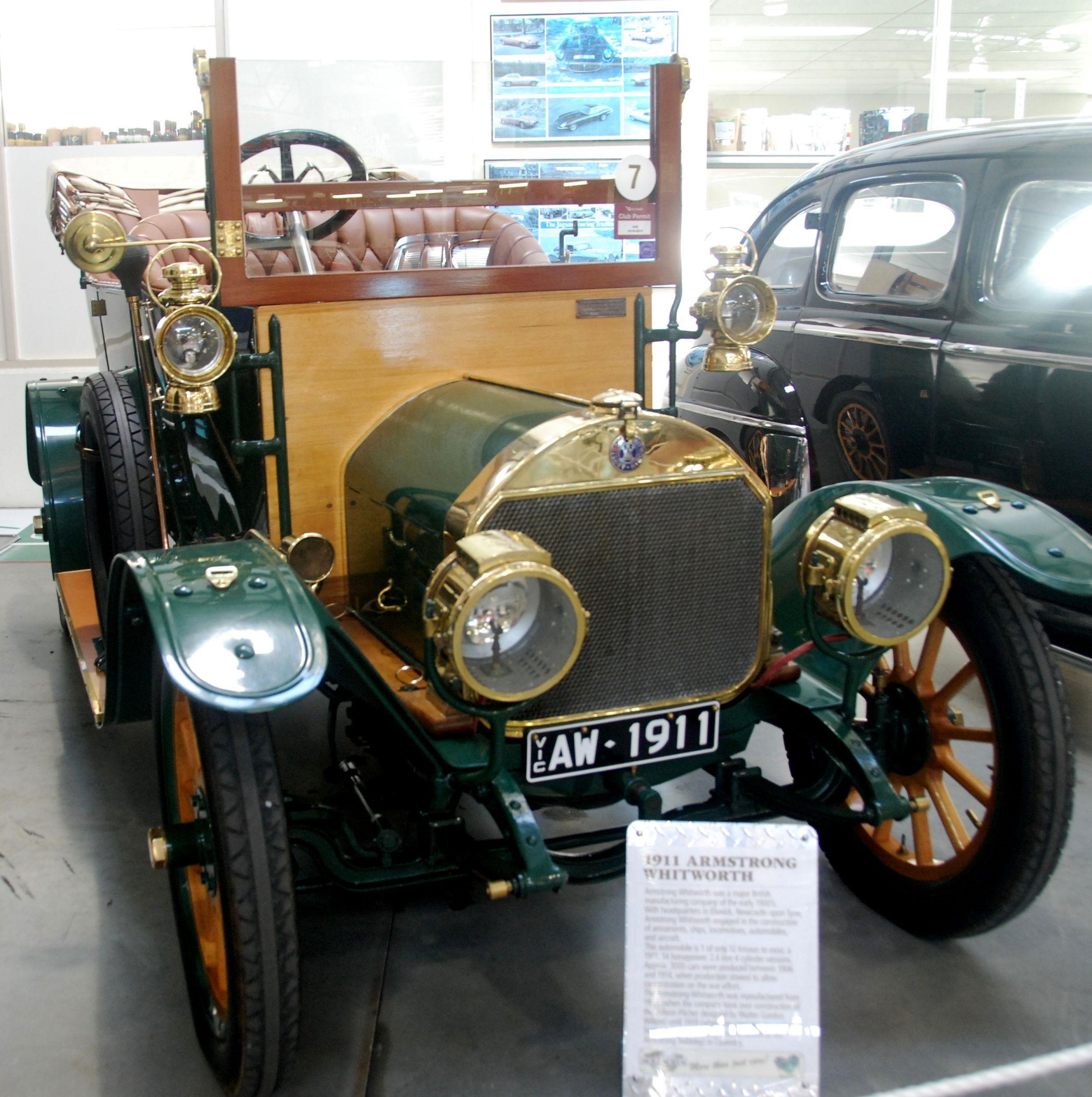 1911 Armstrong Whitworth Shepparton Car Museum