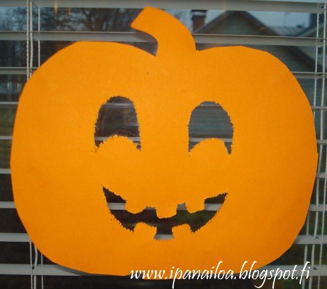 askartelua: halloween, kurpitsa, syksy  http://ipanaaskartelua.blogspot.fi/2011/11/kurpitsa.html