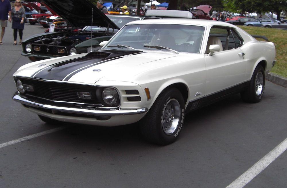 70 Mach 1 Mustang Fastback Mustang 1970 Mach 1
