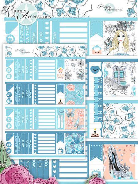 Sticker - 112 Stickers - ECLP Horizontal Wochen Kit SETH009 - ein Designerstück von PlannerAccessories bei DaWanda