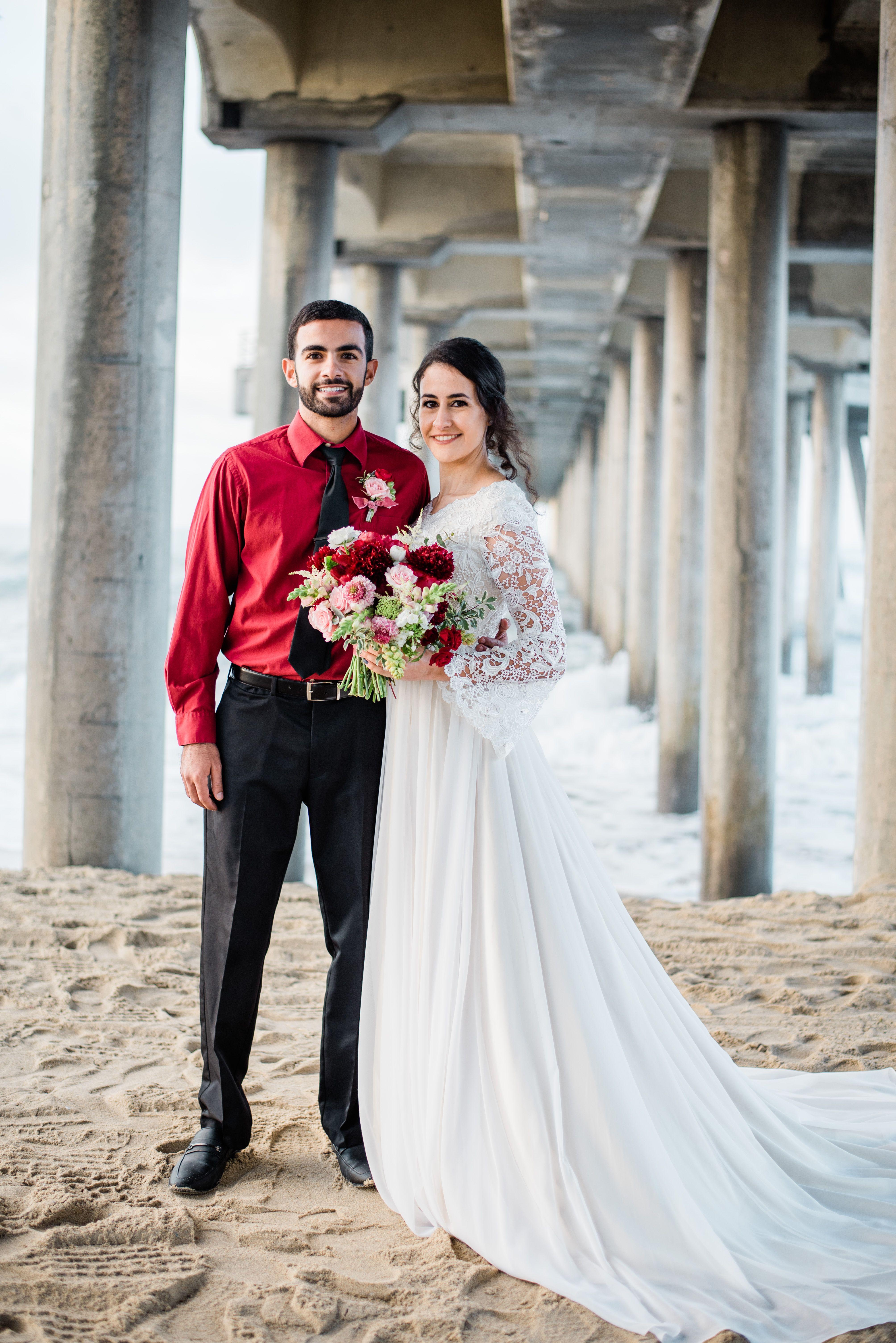 Abigail Erin Photography Beach Wedding Photos Utah Wedding