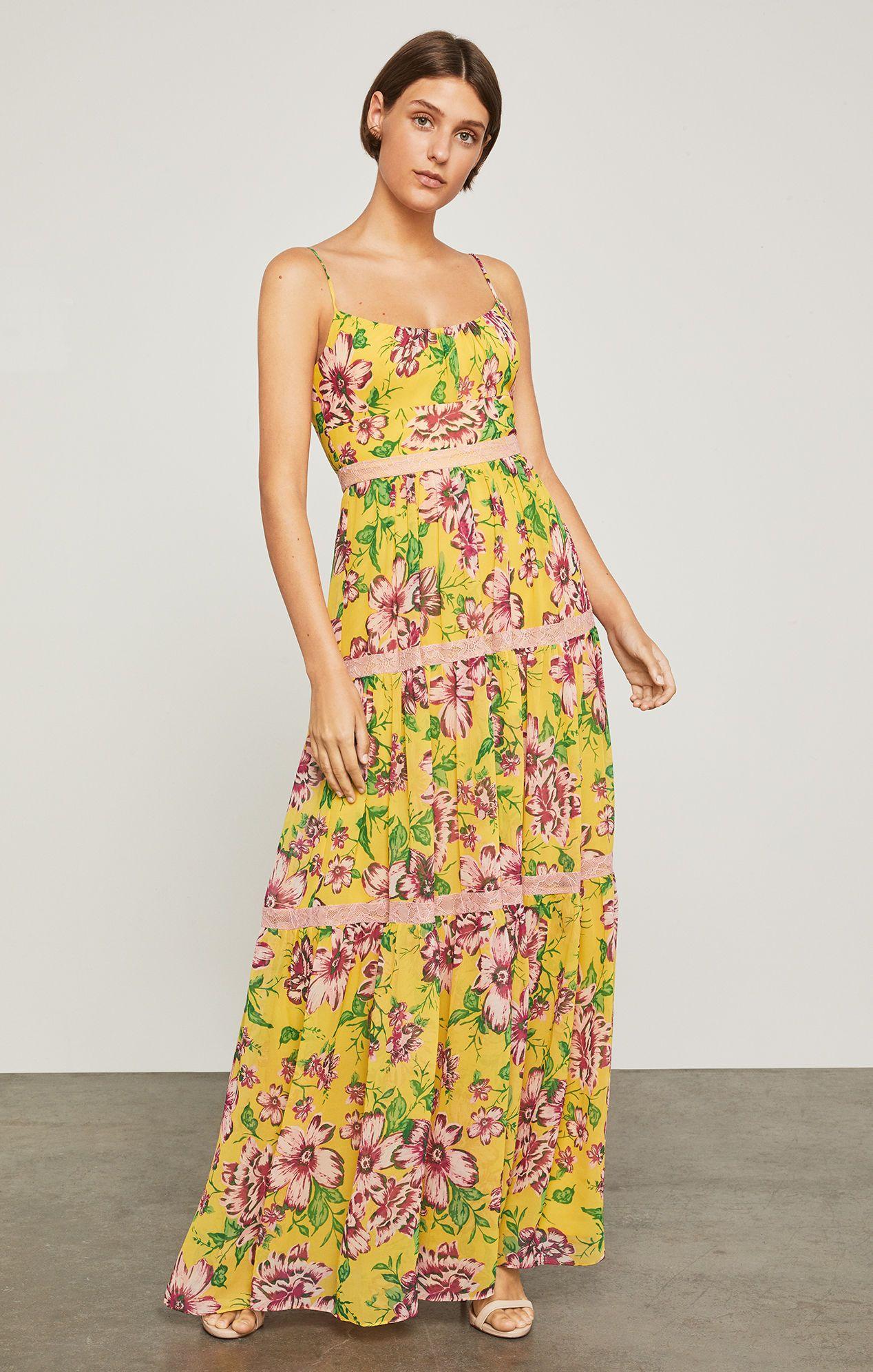 Festive Floral Maxi Dress Bcbg Com Summer Maxi Dress Maxi Dress Summer Gowns [ 1992 x 1268 Pixel ]