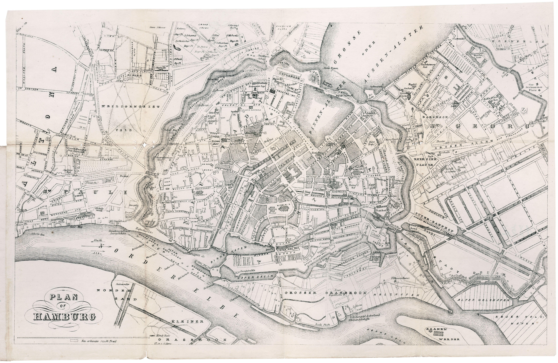 Illustrierte Karten Bild Von Kenohm Raveling Auf Hamburg In 2020