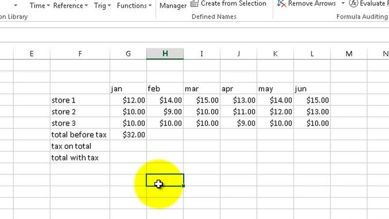In this introductory lesson, your instructor provides a guided tour - components of a spreadsheet