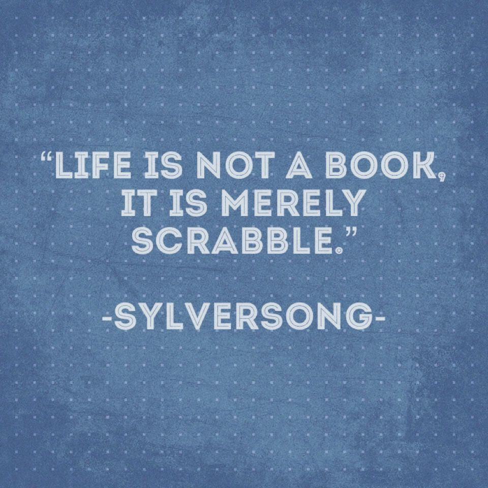 Life is not a book it is merely scrabble. #quotes #life #smile #love  #scrabble #holidays #wordsofwisd… | Funny quotes, Funny quotes about life,  Holiday party quote