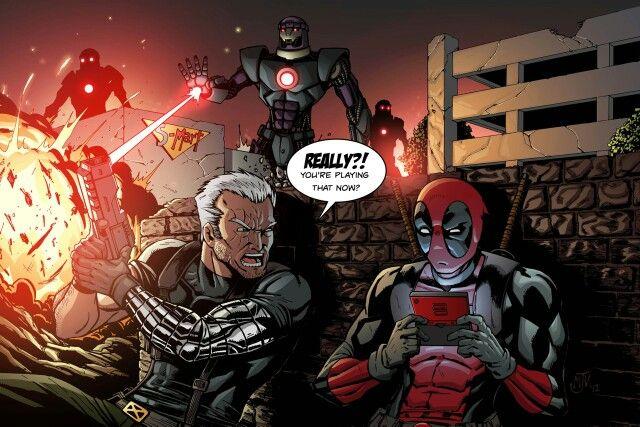 Really Deadpool?!