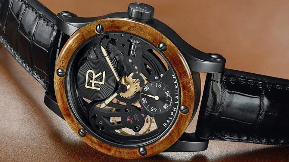 Ralph Lauren Skeleton Automotive Watch | Urban City Style