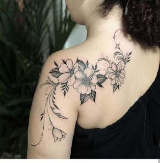 Shoulder Tattoo Inspiration For Women