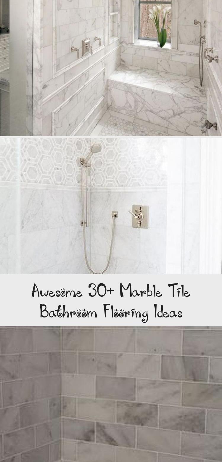 Awesome 30+ Marble Tile Bathroom Flooring Ideas Awesome 30