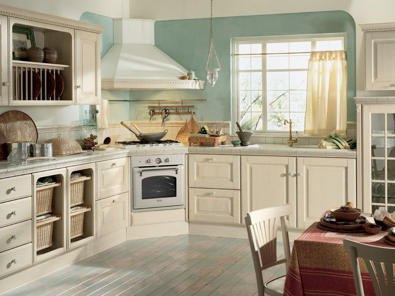Cucine in stile country | Stove, Shabby and Corner
