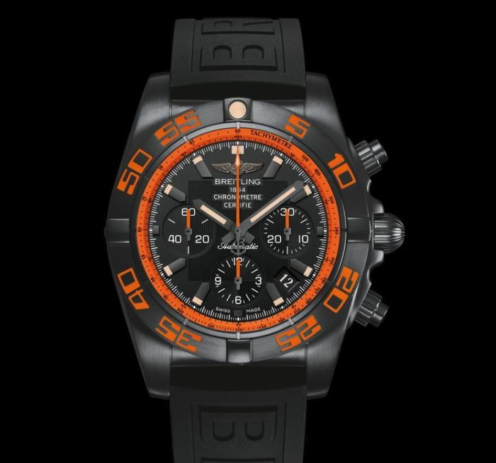 2cd82fadefc Breitling Chronomat 44 Raven – An Ultra-Sporty Watch In Black And Orange