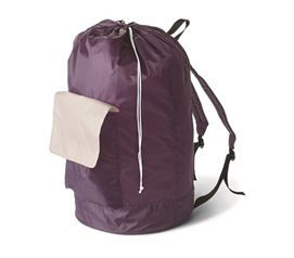 Cheap Laundry Bags Eggplant Laundry Backpack Dorm Stuff For