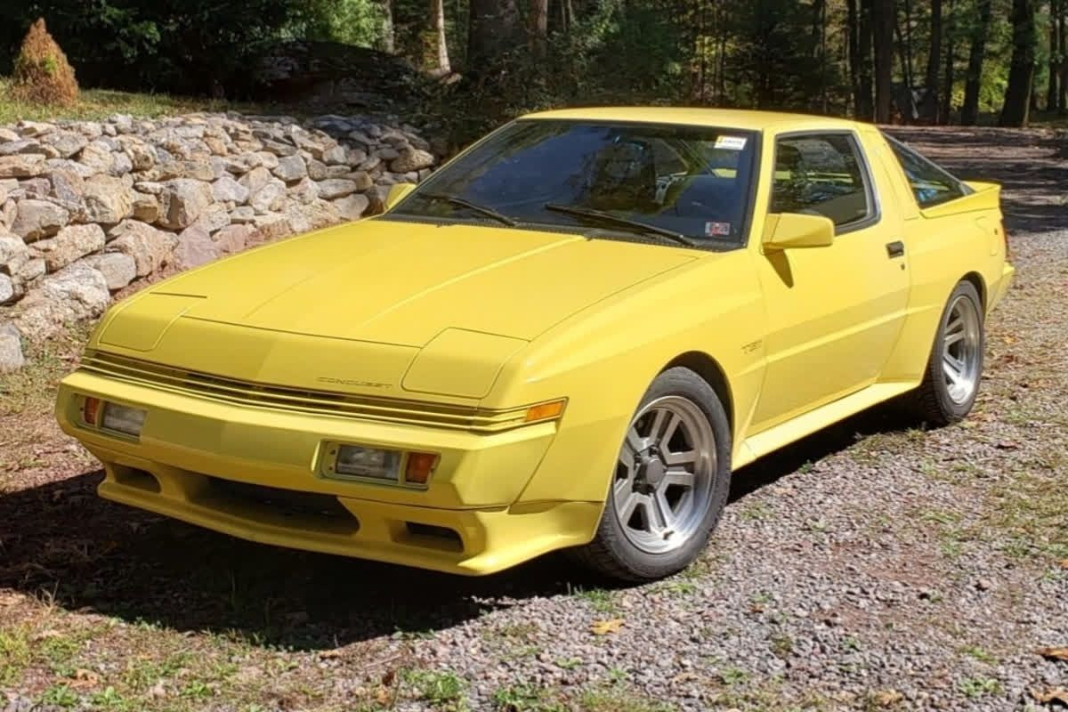 Check Out This 1989 Chrysler Conquest Tsi For Throwbackthursday
