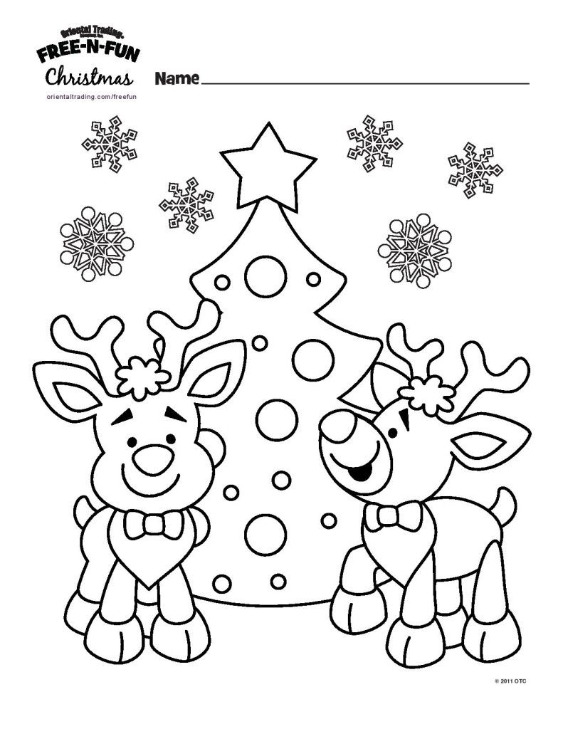 10 Wonderful Winter Kids Coloring Pages  Free christmas coloring