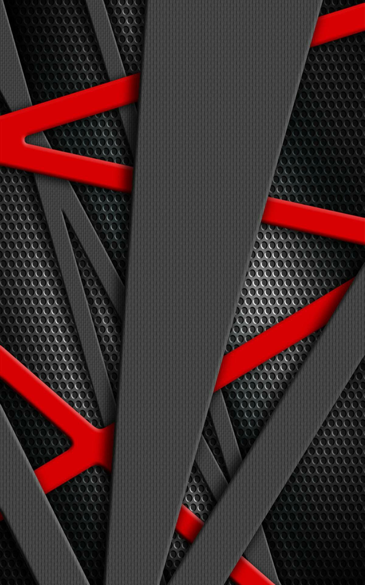 Pin Oleh Mohameddarweesh Di Tlo Czarne I Czerwone Background Black And Red Wallpaper 3d Wallpaper Ponsel Seni Fotografi