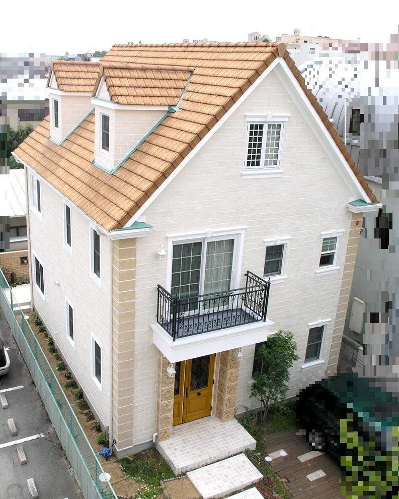 三角屋根の素敵な邸宅 トップメゾン 住宅 外観 ホームウェア 屋根