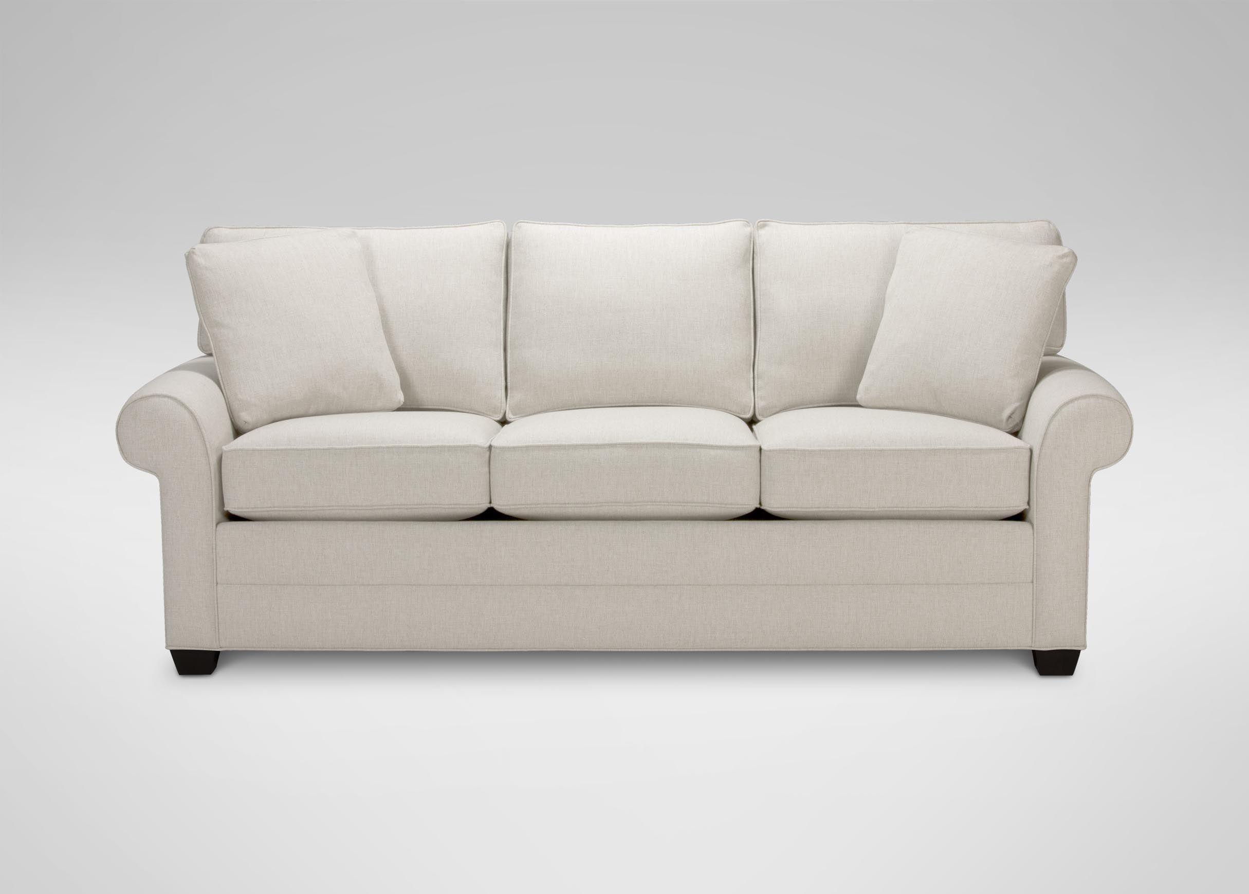 Bennett Roll Arm Sofa Quick Ship Sofas & Loveseats