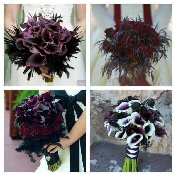 Gothic wedding bouquets Check us out on Fb- Unique Intuitions #uniqueintuitions #gothic # & Gothic wedding bouquets Check us out on Fb- Unique Intuitions ...