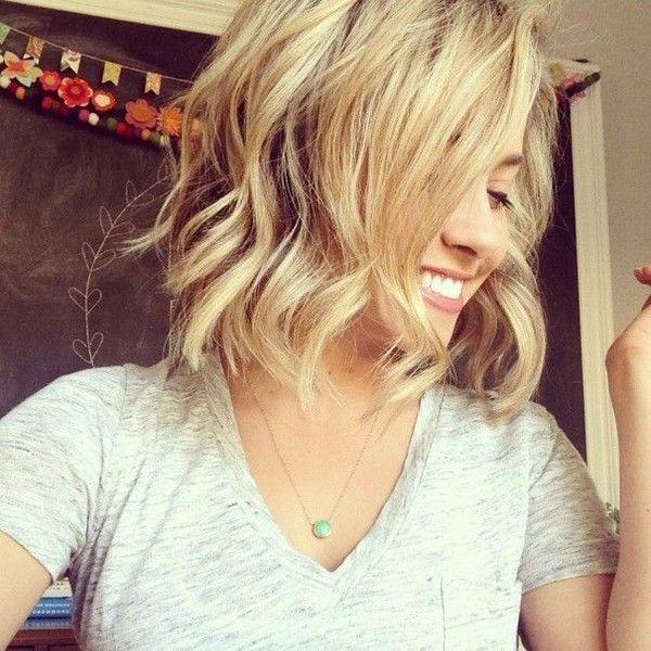 Pinterest Polyvore Hair Styles Beach Waves For Short Hair Short Hair Waves