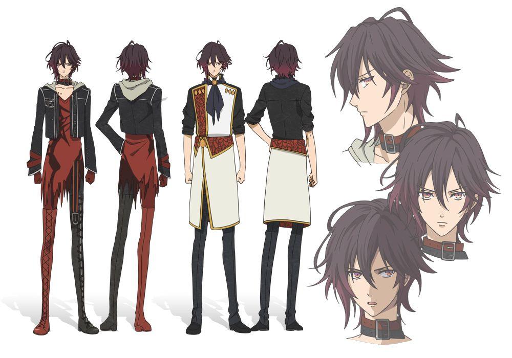 Character Design Visual Novel : Shin amnesia anime mangá pinterest
