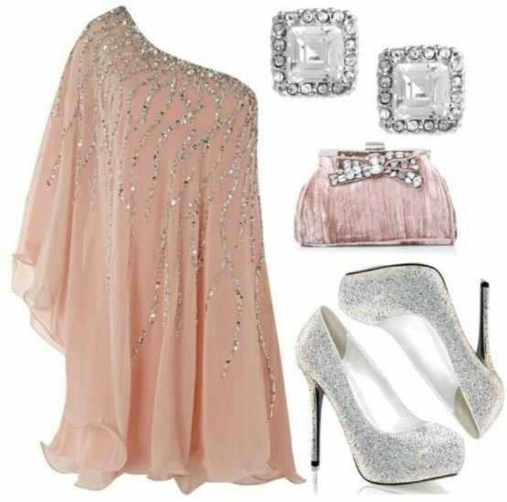 glitter en glamour outfit