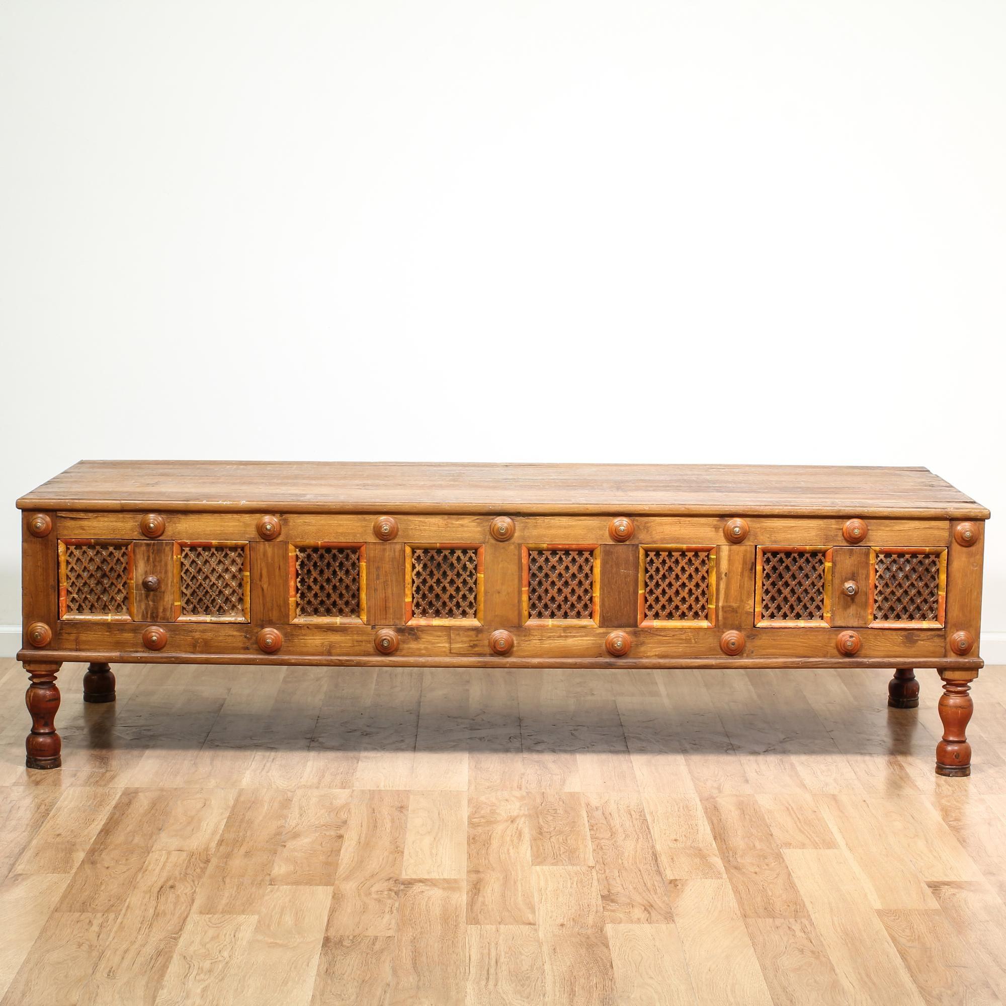 Eastern Asian Style Rustic Coffee Table