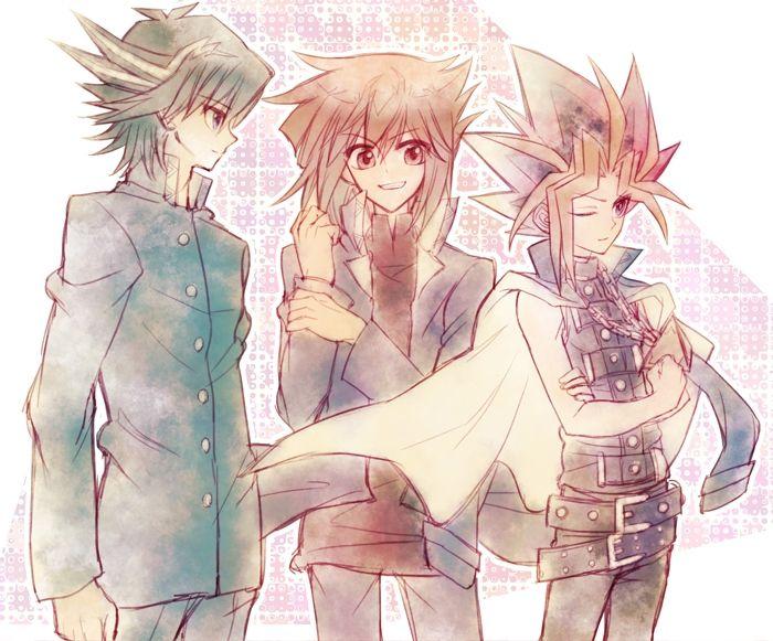 Yu-Gi-Oh! - Jaden, Yusei, Atem