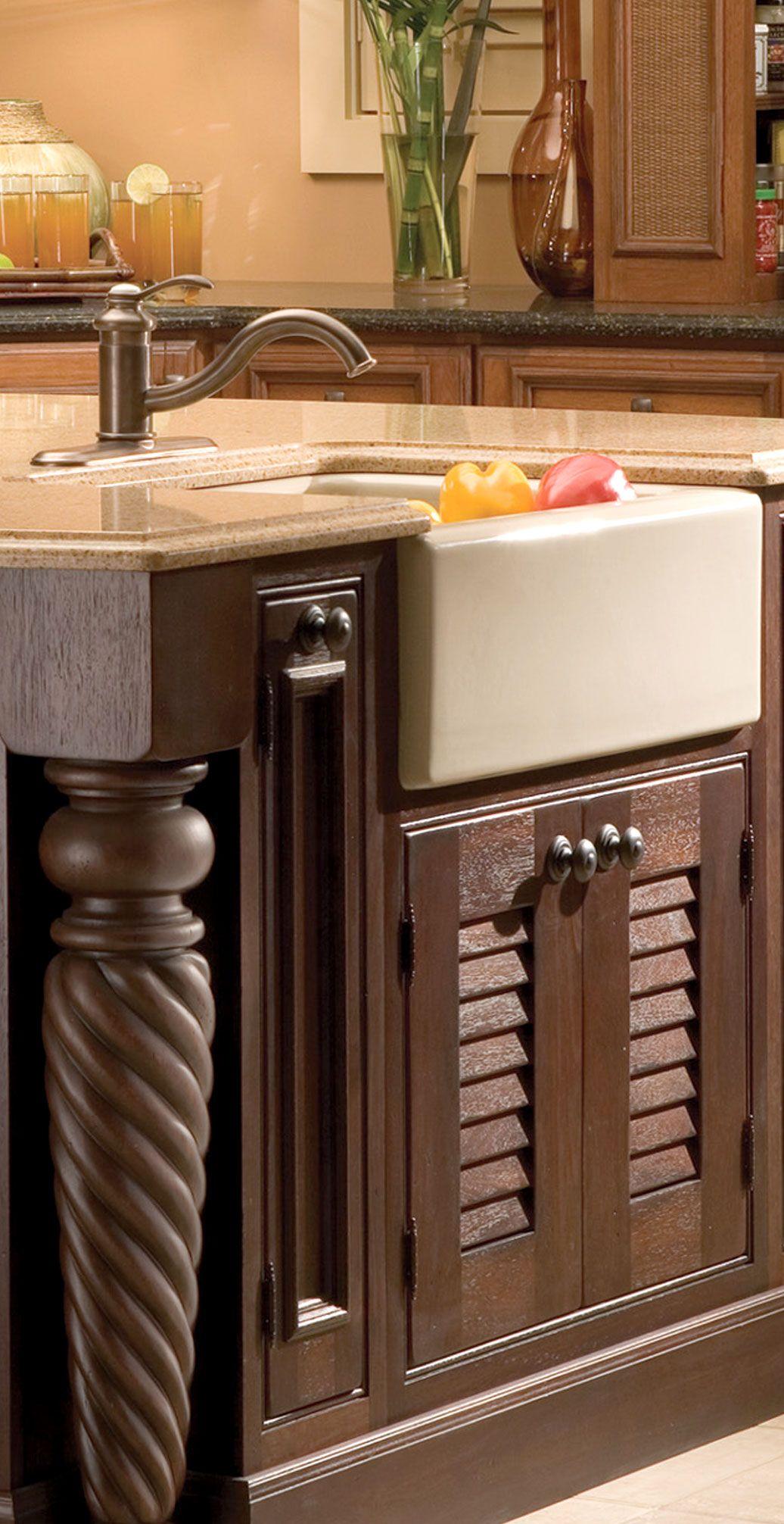 Dura Supreme Cabinetry Kitchen Bath Cabinetry Tropical Kitchen Design Island Design Kitchen Design
